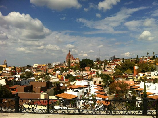 Rosewood San Miguel de Allende: View from the Luna Bar at Rosewood San Miguel