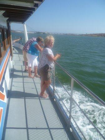 Transguadiana River Cruise: Return journey