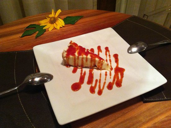 Pousada Triboju : Cheesecake de pitanga