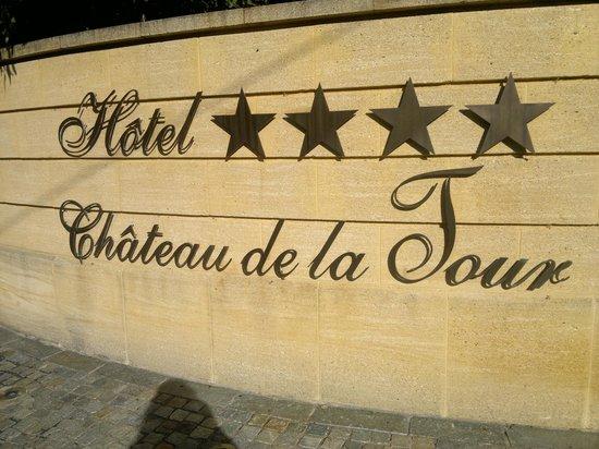 Hôtel Château De La Tour : entrada