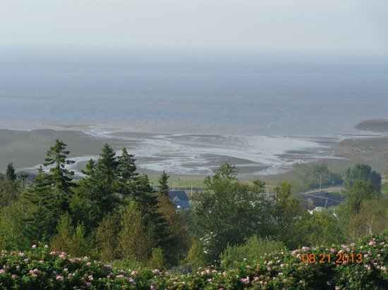 Falcon Ridge Inn: The amazing Fundy tide