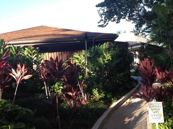 The Westin Kaanapali Ocean Resort Villas: Outside Hotel Lobby