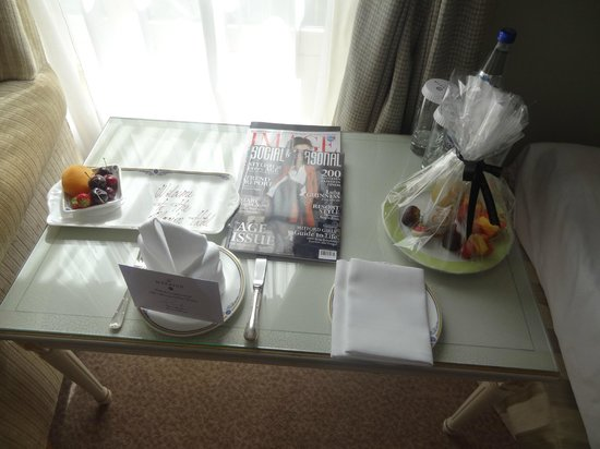 The Merrion Hotel: Welcome Goods