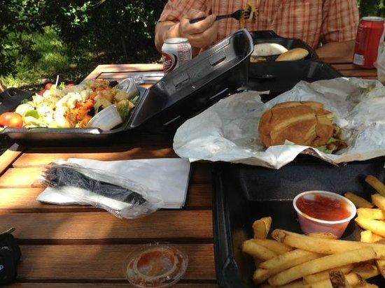 Shade Tree Cafe': Shade Tree Cafe Meal