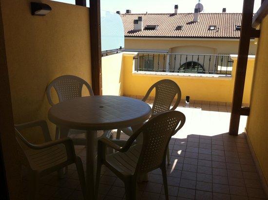 terrazza a tasca - Foto di Residence La Guirita, Tortoreto ...