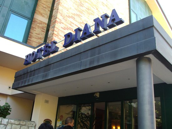 Hotel Diana : Ingresso
