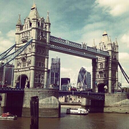 Storbritannien: Tower Bridge