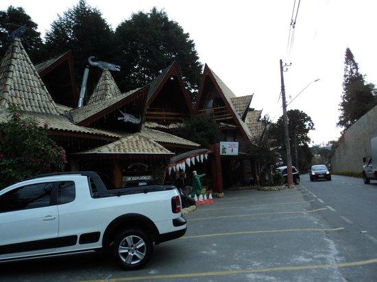 Restaurante Krokodillo I: Boca do krokodillo