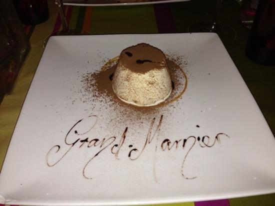 Restaurant Aubergine : jolie dessert