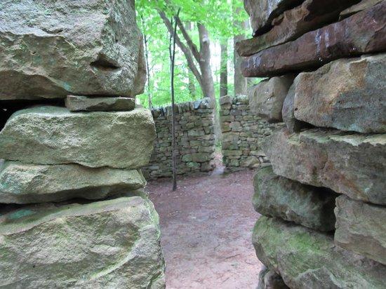 Kentuck Knob: Goldsworthy's Wall (detail)