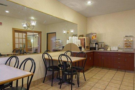 Red Roof Inn Troy: Breakfast Area