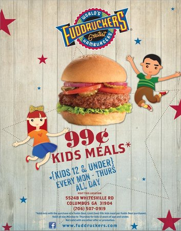 Fuddruckers: Kids Meal Deal