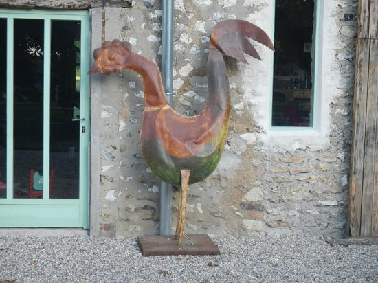 La Ferme des Isles : Outside the barn