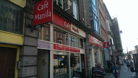 Cafe Manila, Dublin.