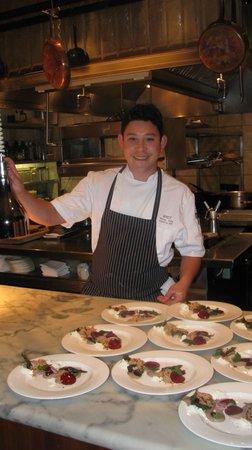 West Restaurant + Bar: chef Dang