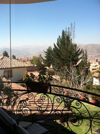Encantada Casa Boutique Spa: View from our lovely balcony