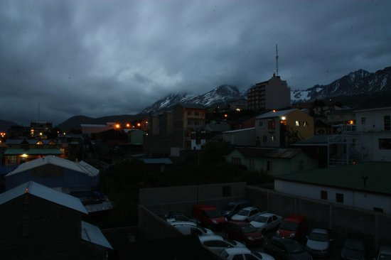 Hosteria Mustapic: Вид на город