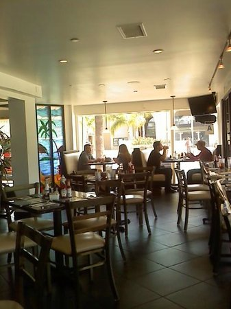 Longboarder Cafe : LB Cafe interior, toward front door