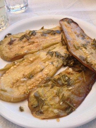 Taverna Mesa Pigadia: melanzane