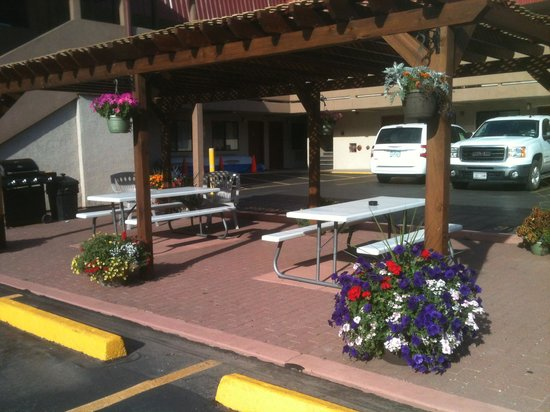 Glenwood Springs Cedar Lodge : Another picnic area