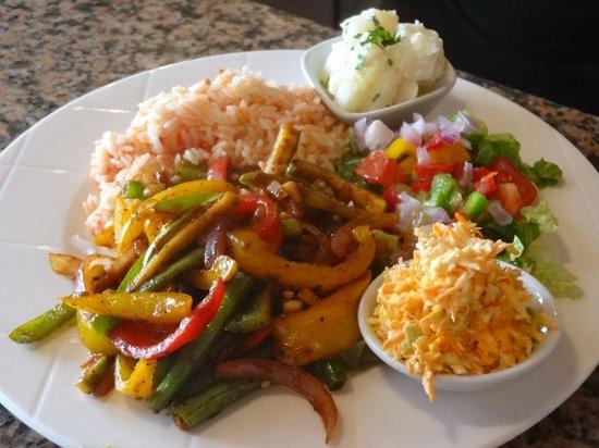 La Cantina: Vegetarian stir fry