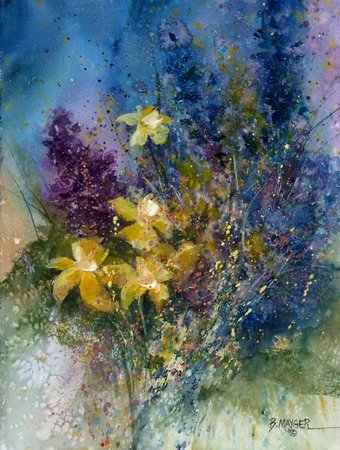 Independence Gallery: Daffodils by Bonnie Mayger... Fabulous!
