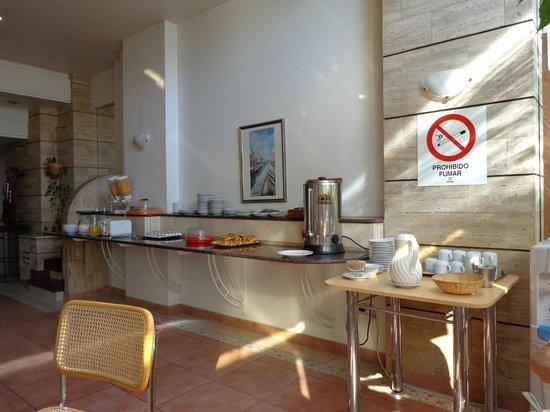 Hotel Plaza del Sol: Desayuno del primer día
