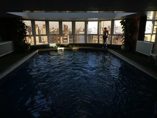 Hotel Plaza del Sol: Pileta cubierta y climatizada