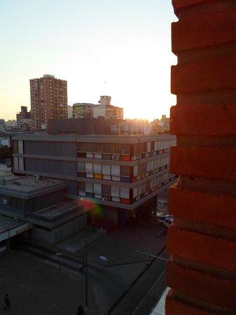 Hotel Plaza del Sol: Amanecer desde el balcón de la habitación