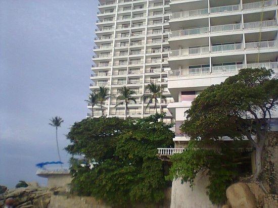 El Presidente Acapulco: Hotel y sus alrededores