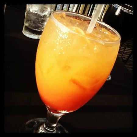 Pignoli on the Harbour: Tequila Sunrise! Lovely :)