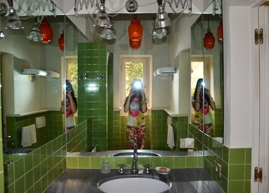 Casa Howard Guest House: very cool bathroom