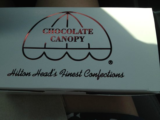 Chocolate Canopy: Box of chocolates!