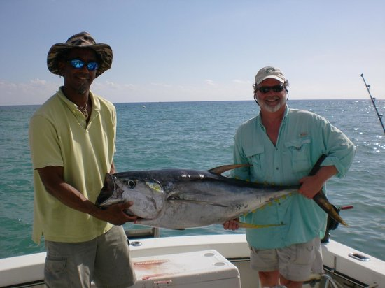 Fantastic fishing picture of caymanite charters tours for Grand cayman fishing