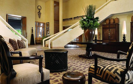 Saxon Hotel, Villas and Spa: Saxon Reception