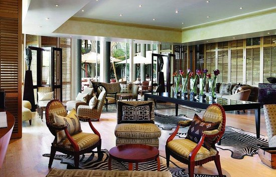 Saxon Hotel, Villas and Spa: Saxon Piano Lounge