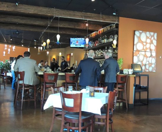 Seviche A Latin Restaurant : Bar Area
