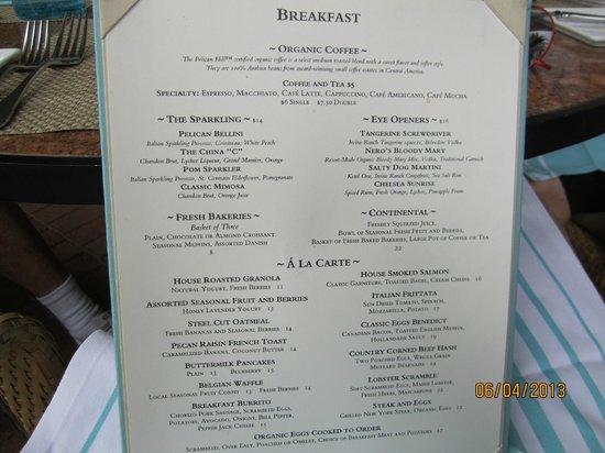 The Pelican Hill Restaurant