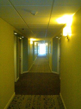 BEST WESTERN PLUS Myrtle Beach Hotel : Hallway view by elevator
