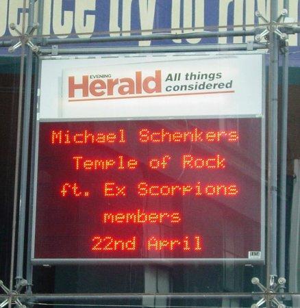 Vicar Street: Great concert!!!!