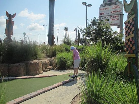 Mighty Jungle Golf, LLC: Steady, aim, put....
