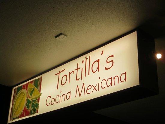 Tortillas Cocina Mexicana : Restaurant