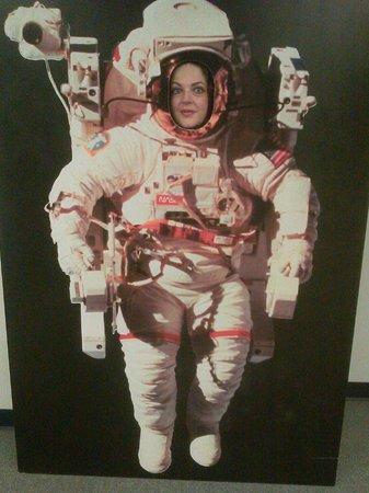 Ingram Planetarium: Me as an astronaut!