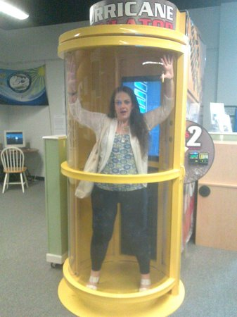 Ingram Planetarium: ...don't get trapped inside! HAhaha!