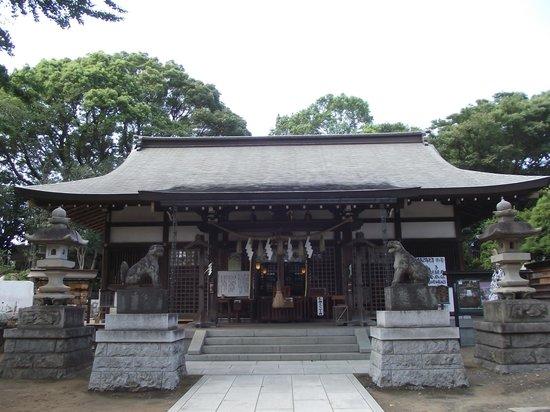 Towatari Shrine: 社  殿