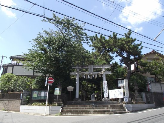 Towatari Shrine: 鳥  居