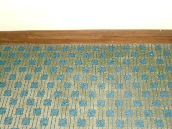 Carmel Mission Inn : carpet.....mold also?