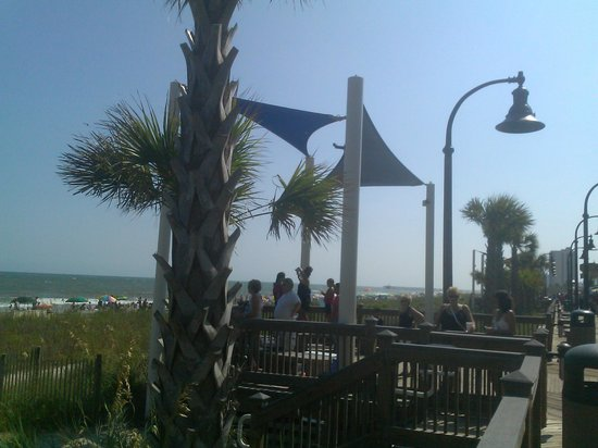 Myrtle Beach Boardwalk & Promenade: Beautiful beach scenery