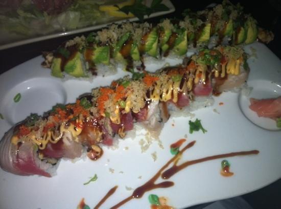 Hakata Japanese Steak House: genki roll and midori roll