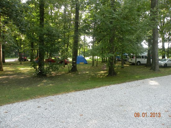 Manchester KOA Campground: Tent camp sites